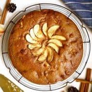 Cinnamon Apple Cake { Paleo, GF }   Perchance to Cook, www.perchancetocook.com