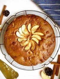 Cinnamon Apple Cake { Paleo, GF } | Perchance to Cook, www.perchancetocook.com