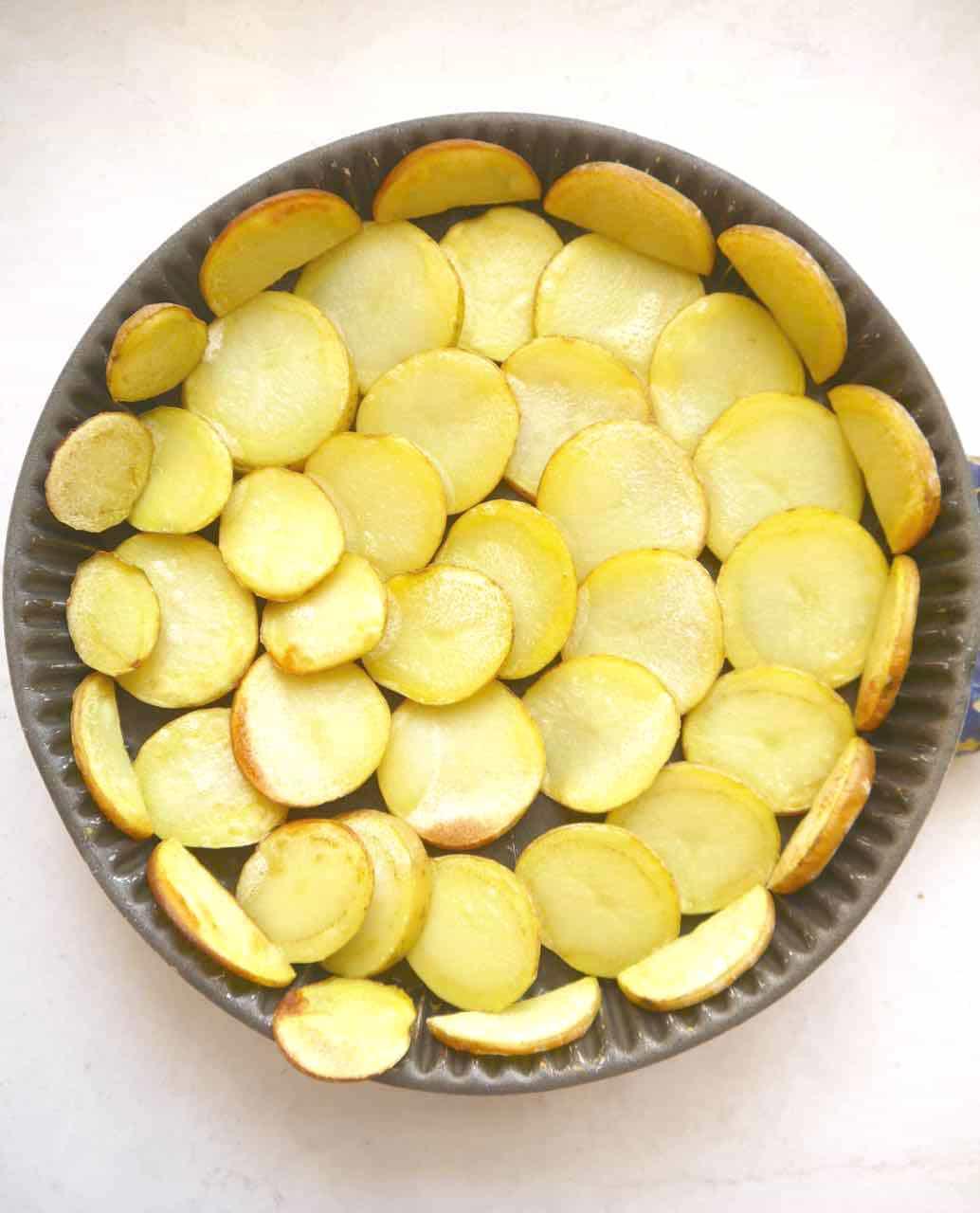 Gluten-Free Quiche Lorraine with a Potato Crust | Perchance to Cook, www.perchancetocook.com