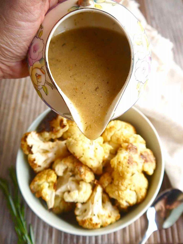 Bone Broth Gravy (Paleo, GF)   Perchance to Cook, www.perchancetocook.com