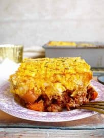 Butternut Squash Shepherd's Pie (Paleo, Whole30)   Perchance to Cook, www.perchancetocook.com