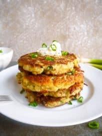 Paleo Whole30 Potato Pancakes (GF) | Perchance to Cook, www.perchancetocook.com