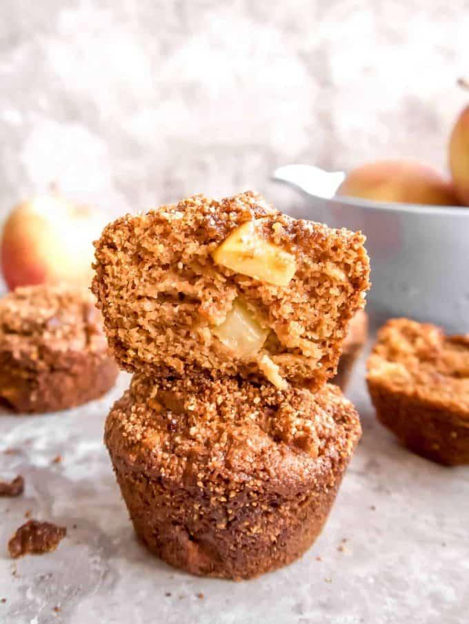 Paleo Gluten-Free Apple Crumb Muffins | Perchance to Cook, www.perchancetocook.com