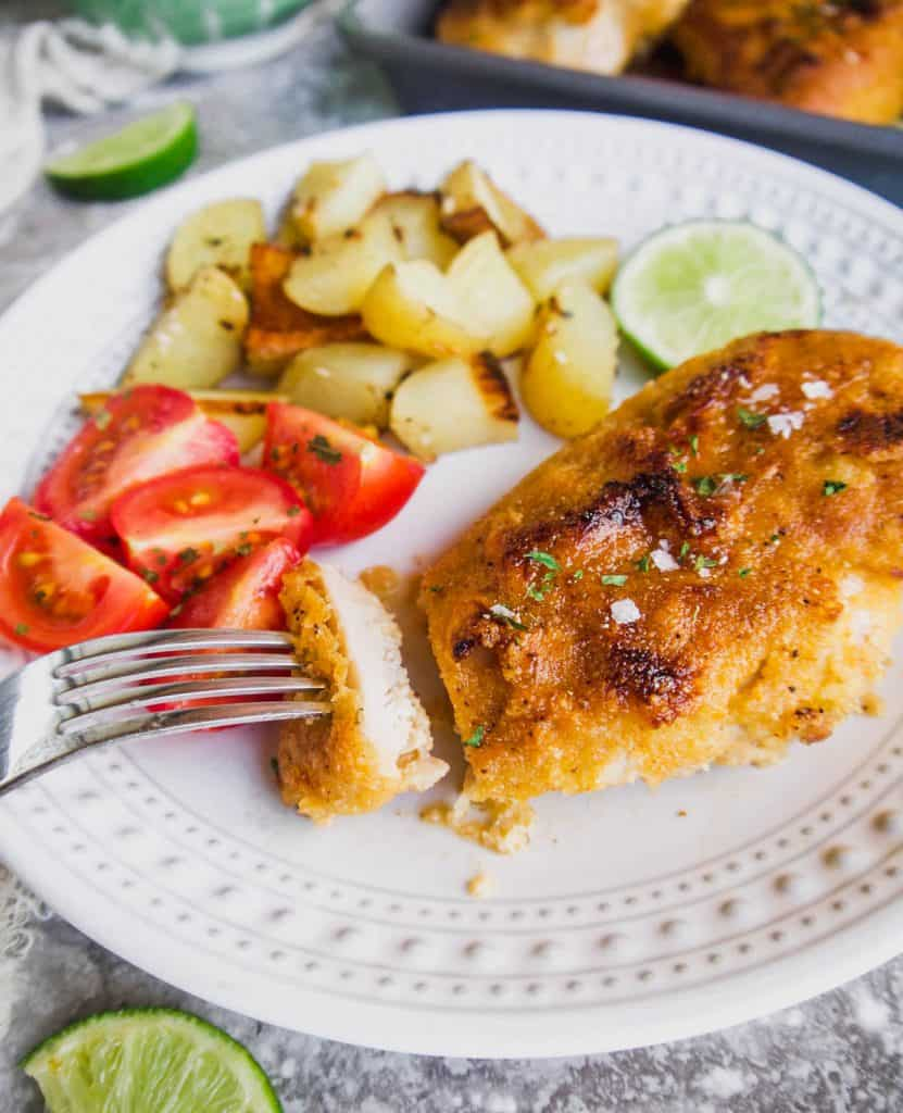 Paleo Maple Lime Chicken (GF) | Perchance to Cook, www.perchancetocook.com