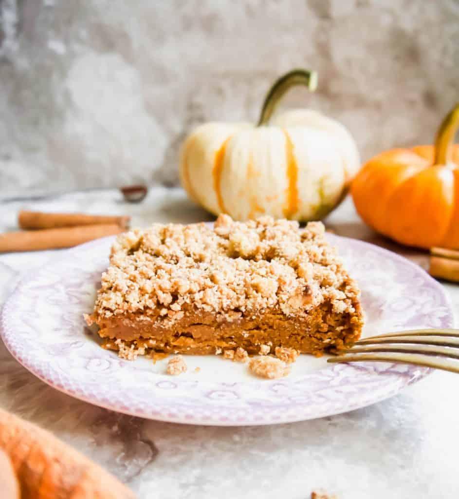 Paleo Gluten-free Pumpkin Coffee Cake | Perchance to Cook, www.perchancetocook.com