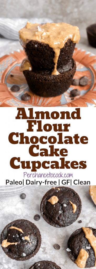 Chocolate Cake Cupcakes (Paleo, GF)   Perchance to Cook, www.perchancetocook.com