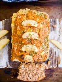Apple and Sage Turkey Meatloaf ( Paleo, Whole30) | Perchance to Cook, www.perchancetocook.com