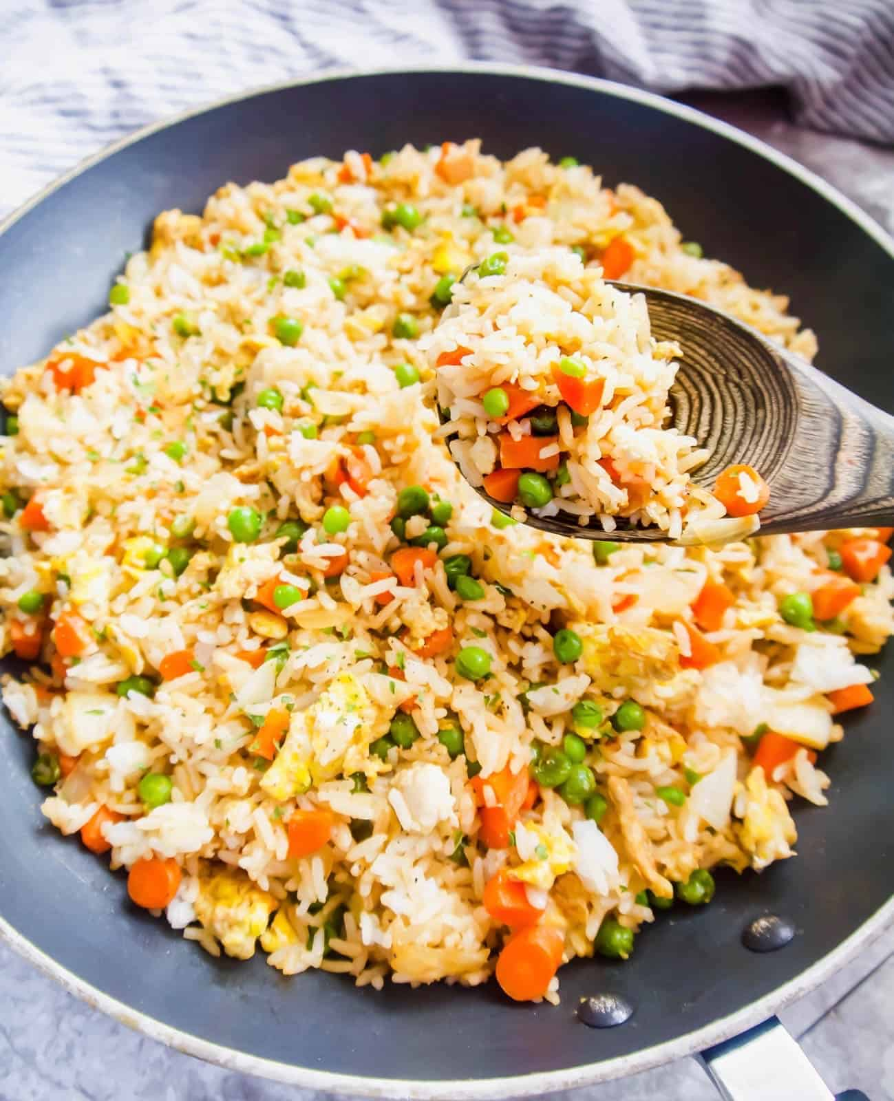 Coconut Aminos Fried Rice (Gluten-Free