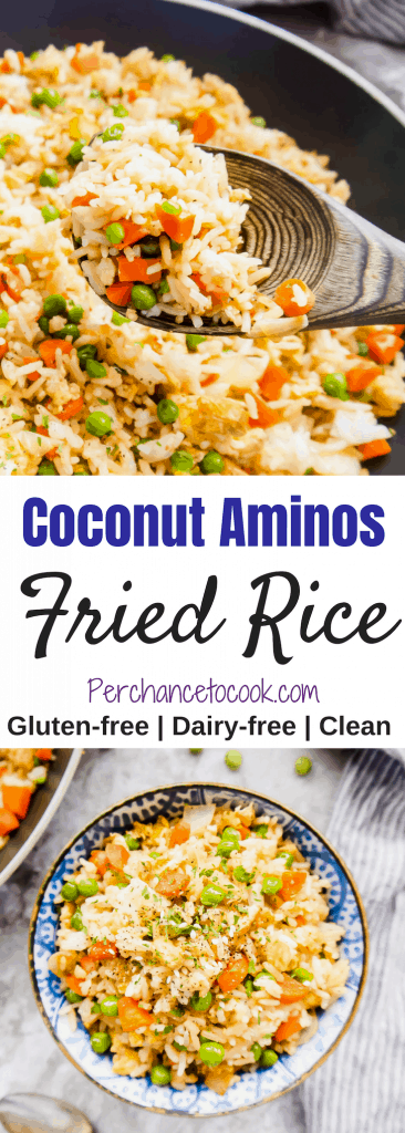 Coconut Aminos Fried Rice (Gluten-Free)   Perchance to Cook, www.perchancetocook.com