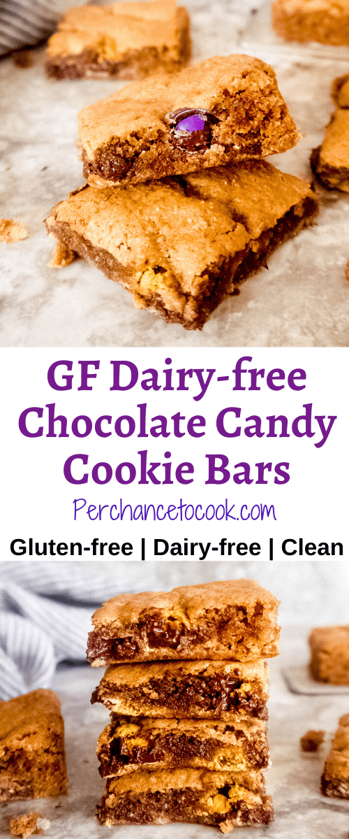 Gluten-free Dairy-free Chocolate Candy Cookie Bars Perchance to Cook | Perchance to Cook, www.perchancetocook.com