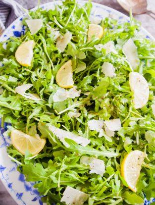 Lemon Arugula Salad | Perchance to Cook, www.perchancetocook.com