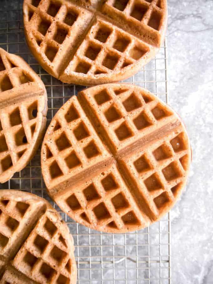 Paleo Dairy-free Belgian Waffles (GF)   Perchance to Cook, www.perchancetocook.com