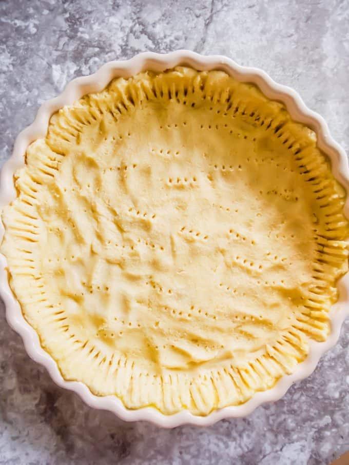 Easy Paleo Tart Crust (Dairy free, Gluten free) | Perchance to Cook, www.perchancetocook.com