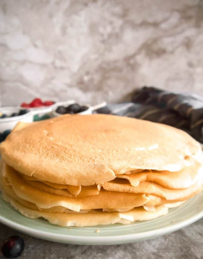 The Best Dairy-free Crepes | Perchance to Cook, www.perchancetocook.com