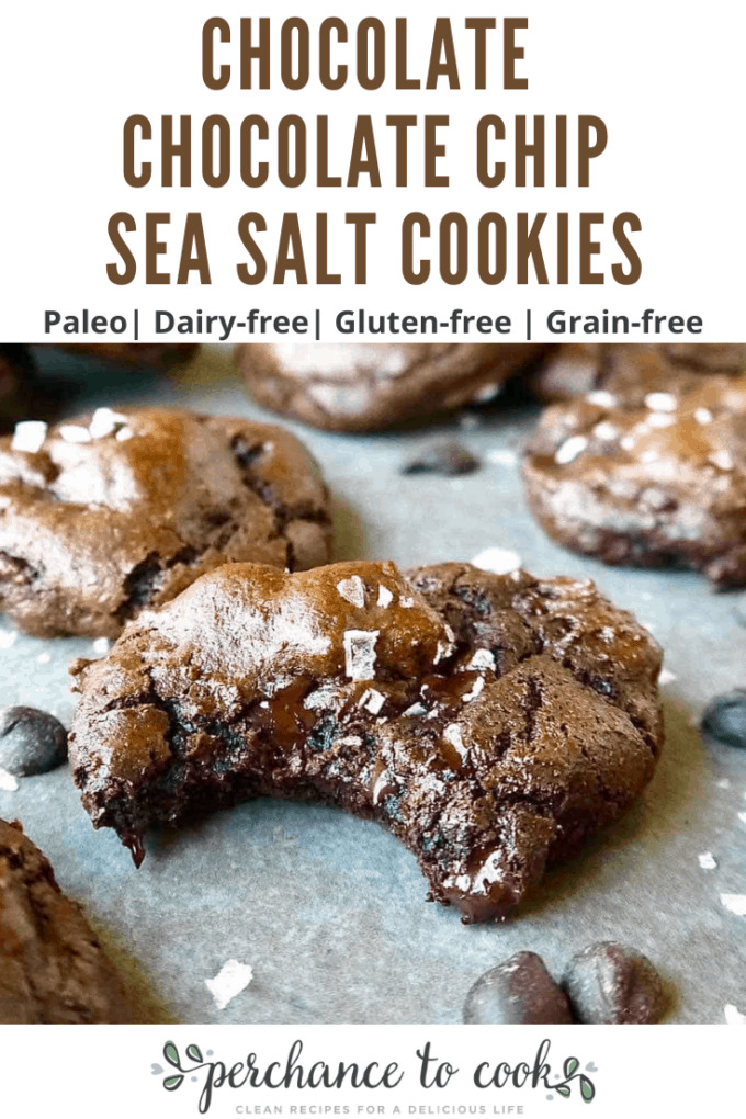 The ultimate dairy-free, gluten-free, and Paleo chocolate cookies that are fudgy, rich, and full of dark chocolate flavor.