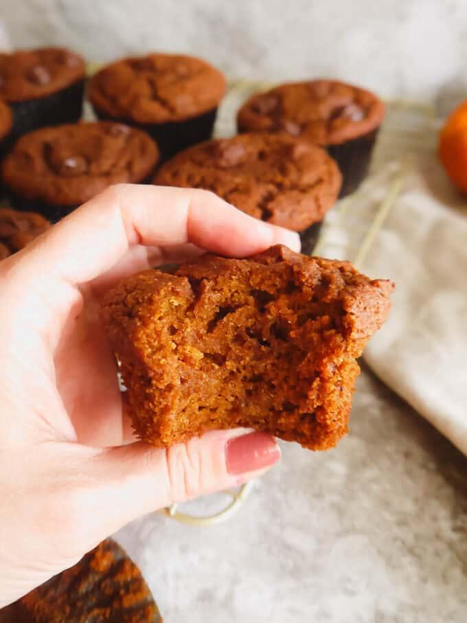 Easy Paleo Pumpkin Muffins    Perchance to Cook, www.perchancetocook.com