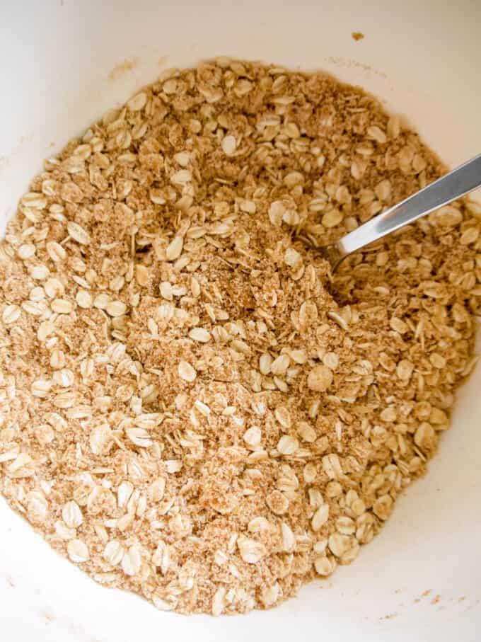 Gluten-free Dairy-free Apple Crisp | Perchance to Cook, www.perchancetocook.com