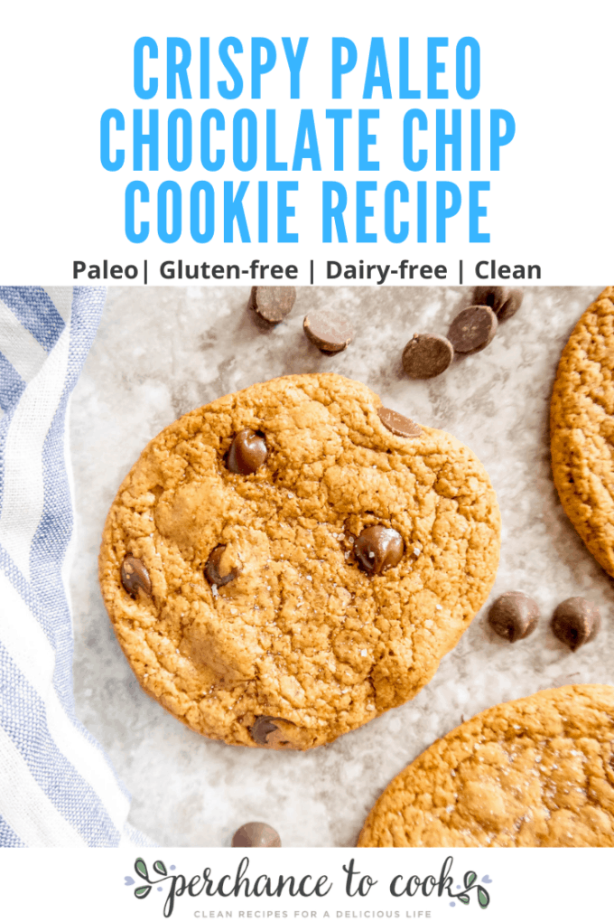 Yummy dairy-free and gluten-free thin and crispy cookies that have a chewy center.