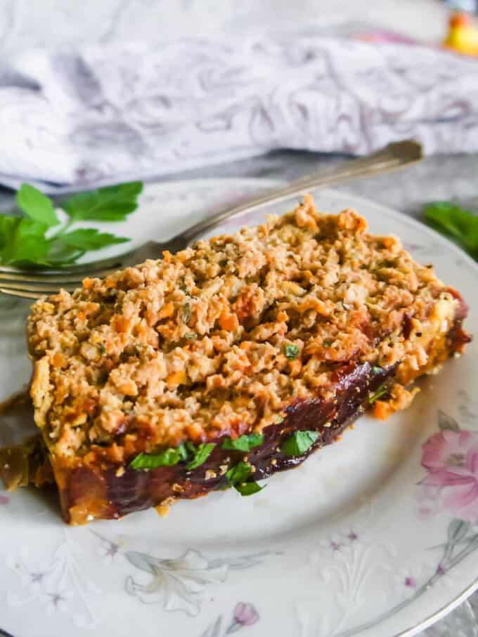 Healthy Turkey and Chicken Meatloaf (Paleo, Whole30) | Perchance to Cook, www.perchancetocook.com