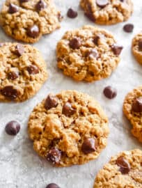 Almond Oatmeal Cookies (Gluten-free, Dairy-free) | Perchance to Cook, www.perchancetocook.com